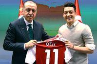 Recept Erdogan und Mesut Özil (2018)