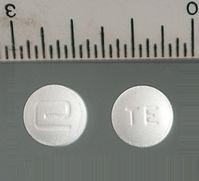 Crystal Meth: 5 mg Desoxyn-Tabletten [(S)-Methamphetamin]
