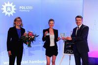 Ehrenkommissarin 2021 Rhea Harder-Vennewald Bild: Polizei