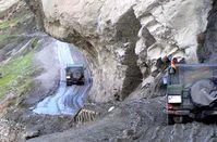 Felsnase auf dem Weg nach Feyzabad. Bild: PIZ Kundus)