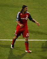 Frings bei seinem Premieren-Spiel Toronto FC gegen FC Dallas (2011)