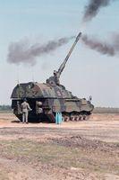 Artillerie-Selbstfahrlafette der Bundeswehr soll jetzt helfen Kriminelle zu innerhalb Deutschlans zu fassen? (Symbolbild)