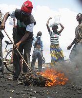 Elektroschrott-Endstation Ghana: Gefahr für Gesundheit und Umwelt. Bild: EMPA