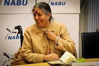 Vandana Shiva bei der Vorstellung der Studie in Berlin. Bild: NABU/A. Gretemeier