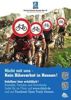 """Open Trails Hessen!"" Plakate erregen Aufmerksamkeit."