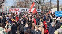 Demo in Wien am 31.01.2021 Bild: Wochenblick