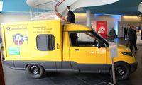 Der Work (B14) als Lieferwagen der Post (2013)