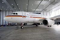 Die neue A319CJ der Flugbereitschaft des BMVg. Bild: Luftwaffe/Sylvia Wiemers