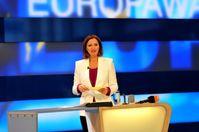 Bettina Schausten bei der Europawahl 2014