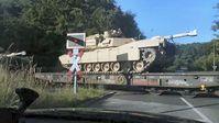 US-Amerikanischer Panzertransport (Symbolbild)