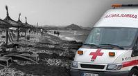 Bild Mallorca-Strand: Pixabay; Symbolbild spanischer Krankenwagen: Constantin Groß, Wikimedia Commons, CC BY-SA 3.0; Collage. Wochenblick / Eigenes werk
