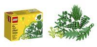"""Die ersten LEGO Elemente aus pflanzlichem Kunststoff ziehen in die Kinderzimmer ein. Bild: """"obs/LEGO GmbH"""""""