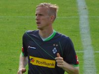 Wendt playing for Borussia Mönchengladbach in 2011