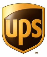 Logo von UPS bei dem die Bombenpakete eingeschleust worden waren
