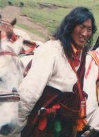 Norpa Yonten, der am 23. Januar in Drango von der chinesischen Polizei erschossen wurde (Bildquelle: Bild: igfm (openPR)