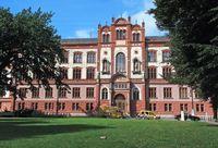 Hauptgebäude der Universität Rostock