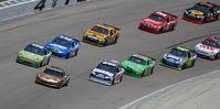 NASCAR-Rennen auf dem Texas Motor Speedway 2008