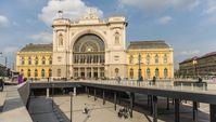 Bahnhof Budapest Keleti pályaudvar