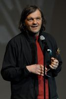 Kusturica erhält den Mayahuel de Plata auf dem mexikanischen Festival Internacional de Cine en Guadalajara (2009)