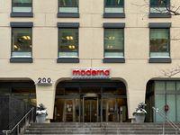 Hauptsitz von Moderna in Cambridge, Massachusetts (2020)