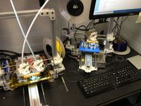 3D-Drucker: wird bald Organspender. Bild: flickr.com, AnnikaOBrien
