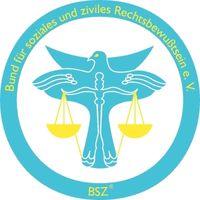 Logo: BSZ® Bund für soziales und ziviles Rechtsbewußtsein e.V.