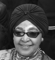 Winnie Madikizela-Mandela im August 2014