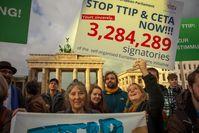TTIP, TTIP light, CETA, uvm.: Handelsabkommen zu Lasten von 97% der Bevölkerung kommen einfach nicht gut an... (Symbolbild)