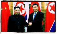 Kim Jong-un und Xi Jinping (2019)