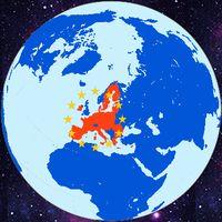 Die Europäische Union (politisch) seit 2020. Sie ist ungleich Europa (Kontienent) (Symbolbild)