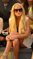 Lohan bei der New York Fashion Week (September 2011)