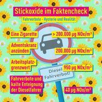 Stickoxide (NOx): Wurden Grenzwerte absichtlich so klein gemacht um die deutsche Automobilindustrie zu (zer-)stören?