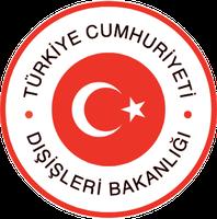 Emblem des türkischen Außenministeriums