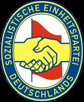 Logo der SED (Symbolbild)