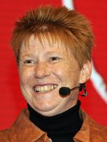 Petra Pau bei der Bundestagswahl 2013.