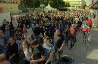 Friedliche Demonstranten in Chemnitz (08-2018)