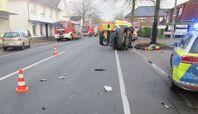 Bild des Verkehrsunfalls (Bild: Polizei)