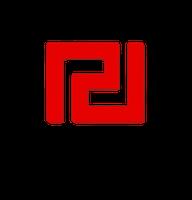 Parteilogo - Chrysi Avgi (XA)