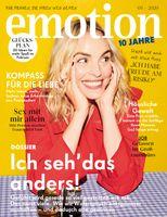 """EMOTION Verlag GmbH, Titelbild zu Ausgabe 03/2020, EVT: 05.02.2020, Bild: """"obs/EMOTION Verlag GmbH/Cathleen Wolf"""""""