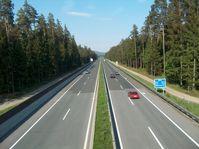 Die A2 zwischen Grafenstein und Völkermarkt Ost