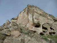 Felsenwohnungen in Hasankeyf