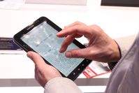 Tablet-Computer mit Multi-Touch