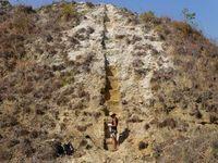 Wissenschaftliche Untersuchung an Sedimenten des Malawi-Rifts. Bild: bik-f.de