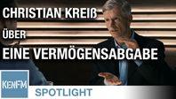"""Bild: SS Video: """"KenFM-Spotlight: Prof. Christian Kreiß über die Notwendigkeit einer Vermögensabgabe"""" (https://tube.kenfm.de/videos/watch/4a1814de-9f2f-4946-bdd0-80e81e589c14) / Eigenes Werk"""