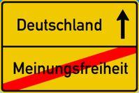 Deutschland ist Weltmeister in der Meinungszensur - Ein freiheitlich-demokratischer Rechtsstaat sieht anders aus (Symbolbild)
