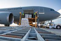 Sonderlackierte Mehrzwecktransporter Airbus A310 MRTT (Mullti-Role-Tanker Transport) Bild: Bundeswehr / Jane Schmidt Fotograf: Jane Schmidt