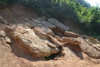 Visočica hill layers