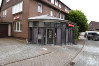 KSN Gebäude außen nach Geldautomatensprengung Bild: Polizei