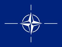 Flagge von NATO