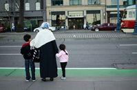 Muslimin (symbolbild)